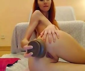 MsLily Big Dildo..