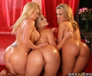 Lusty babes Jenny Hendrix- Brooke Haven and Alexis Texas..