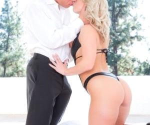 Big assed blonde Kimmy Olsen gets her ass screwed hardcore..