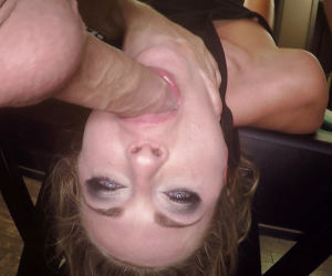 European BDSM model taking hardcore face fucking and..