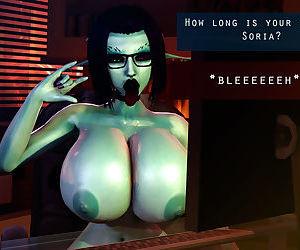 Soria - Big Titty 3D Elf Girl Tittyfucking + Sex Adventures with Tifa Lockhart 3D - part 9
