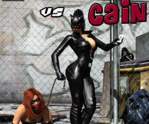 Cain vs Catwoman