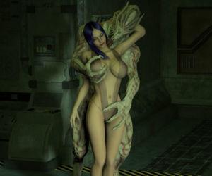 Breast Groping Monsters 3D style