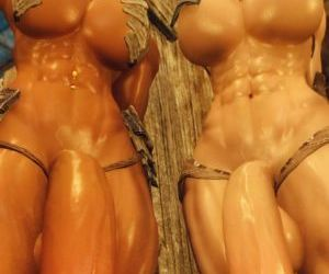 3D Skyrim Muscle Futa by FutanariPrisoner - part 2