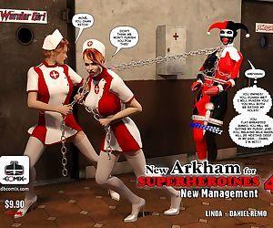 New Arkham for Superheroines 4 - New Management