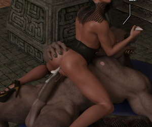 3d Monster Schwanz Blowjob