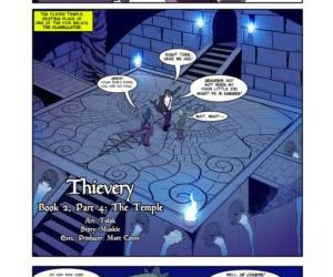 Thievery - Book 2- Part 4: The Temple