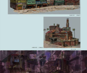 GRAVITY DAZE ARTBOOK - part 6