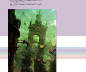 GRAVITY DAZE ARTBOOK - part 3