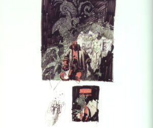 The Art of Hellboy - part 5
